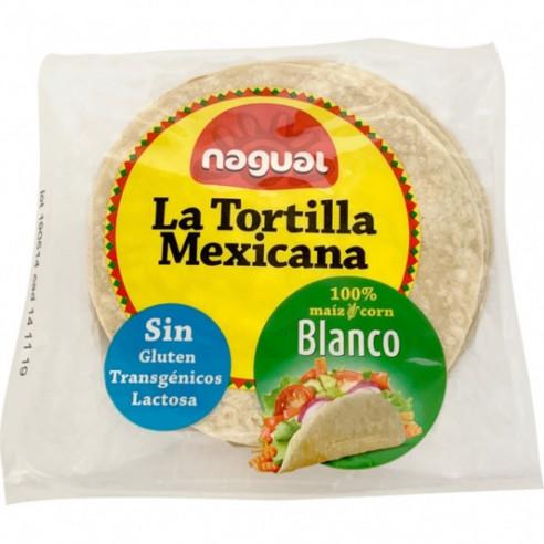 Nagual La Tortilla Mexicana Bianca, 200g (8x25g) Gluten Free