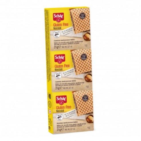Schar Hazelnuts, 63g (3x21g) Gluten Free