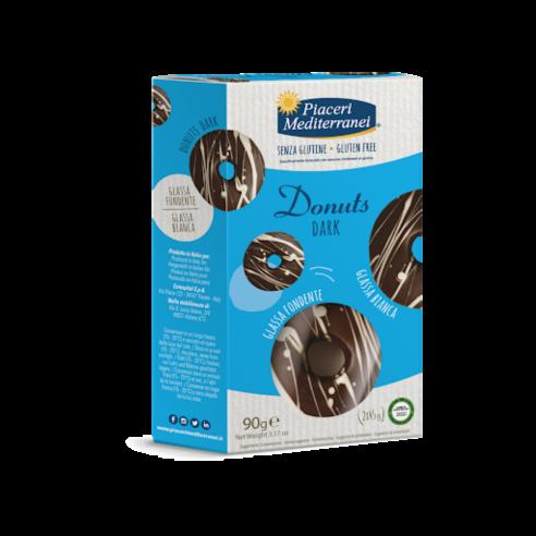 PIACERI MEDITERRANEI Donuts Dark 90g(2x45g) Gluten Free